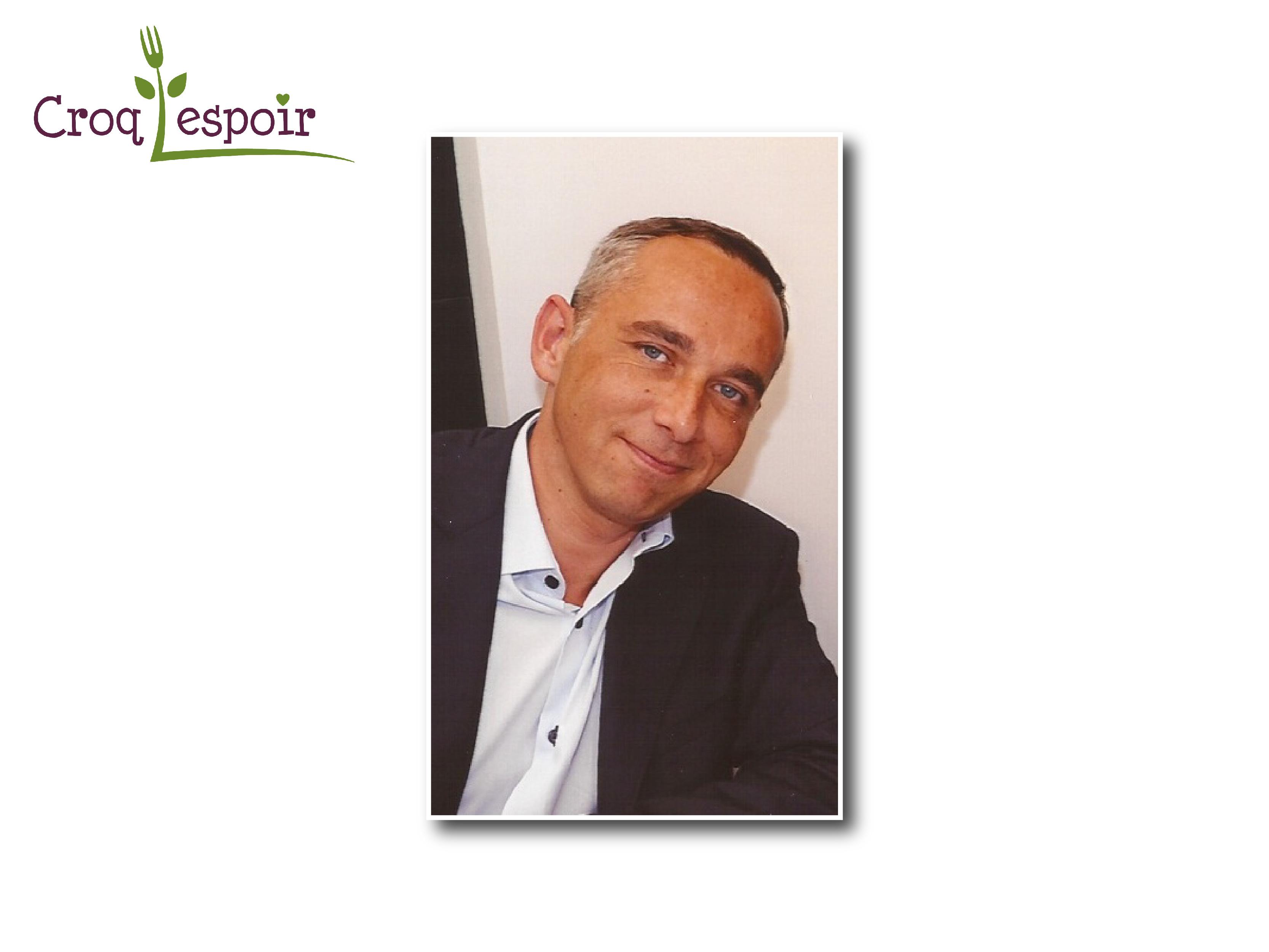 Olivier Gourmelon rejoint Croq'l'Espoir